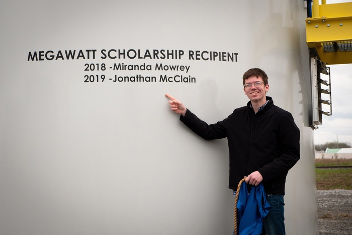 Jonathan McClain Scholarship Photo