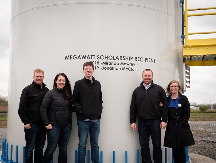 Jonathan McClain Scholarship pictures