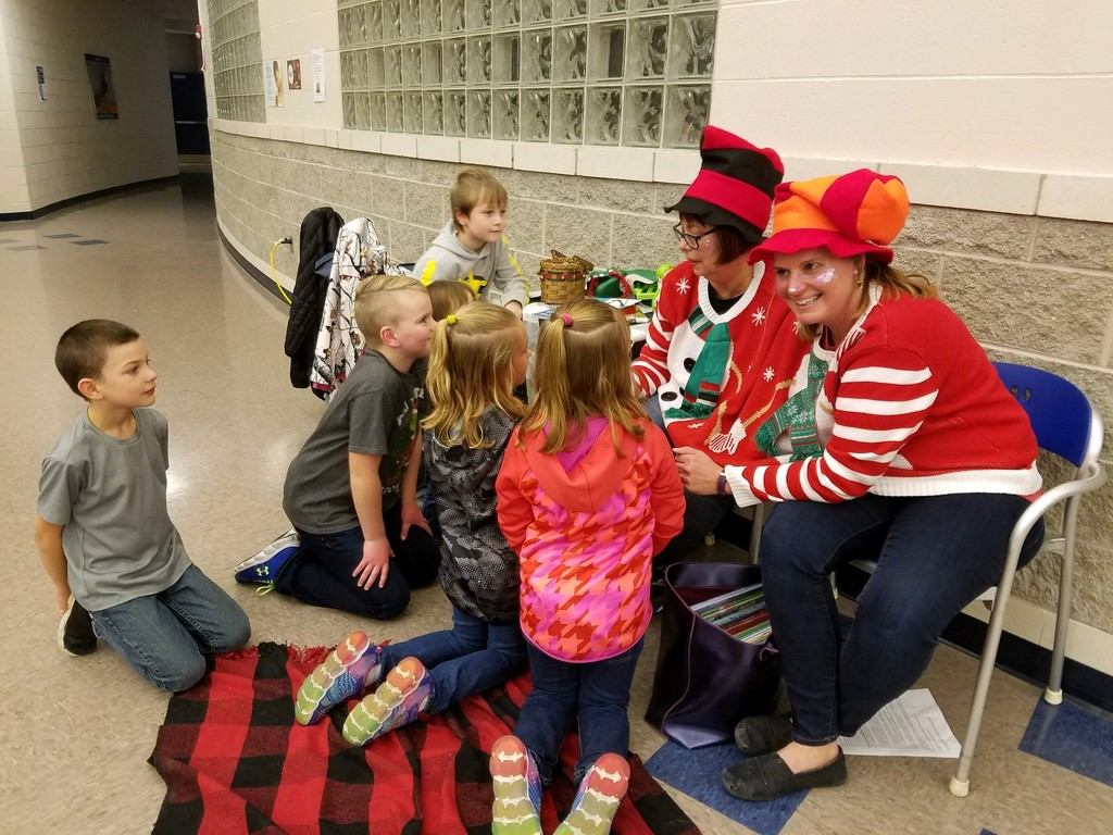 Santa's helpers share Christmas stories!